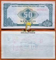 Vietnam 50 Dong 1987 XF/aUNC Serie AB (1) - Vietnam
