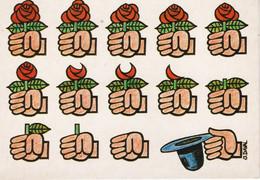 Carte Postale Humoristique Des Années 80: Le Résultat Du Socialisme ... A Voir ... Dessinateur: Daval - Humor