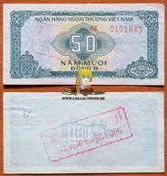 Vietnam 50 Dong 1987 AUNC Serie AE (3) - Vietnam