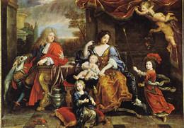 78 Versailles Pierre Mignard La Famille Du Grand Dauphin (Carte Vierge) - Versailles (Château)