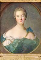 78 Musée De Versailles La Marquise De Pompadour Peint Par Nattier (Carte Vierge) - Versailles (Château)