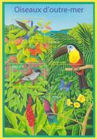 Bloc Feuillet Neuf** - Nature De France Oiseaux D'outre-mer Colibri Toucan Terpsiphone - BF 56 (Yvert) - France 2003 - Mint/Hinged