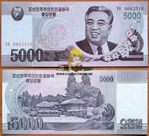 North Korea DPRK 5000 Won 2008 UNC А.Э.-56а1 - Korea, North