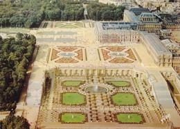 78 Versailles L'Orangerie Les Escaliers Des Cent Marches Et Le Palais (Carte Vierge) - Versailles (Château)