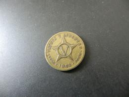 Cuba 5 Centavos 1943 - Cuba