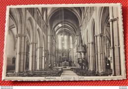 TEMPLEUVE  - Intérieur De L'Eglise - Tournai