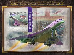2021/03- NIGER - CONCORDE     1V   MNH *** - Avions