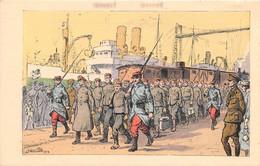 ROUEN - Temps De Guerre - Prisonniers De Guerre - Illustrateur Julien T'Felt - Rouen
