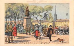 ROUEN - Temps De Guerre - Pont Et Statue De Corneille - Illustrateur Julien T'Felt - Rouen