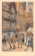 ROUEN - Temps De Guerre - Le Gros Horloge - Illustrateur Julien T'Felt - Rouen