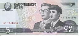 KOREA, NORTH 5 WON 2002 - Korea, North