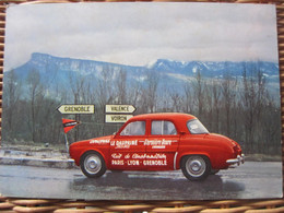 Carte Postale Automobile Dauphine - Turismo