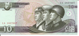 KOREA, NORTH 10 WON 2002 - Korea, North