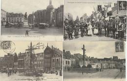 LOT 5 J : 12 REPRODUCTIONS DE CARTES POSTALES ANCIENNES DES SCENES DE DIVERS DEPARTEMENTS ET THEMES VOIR SCANS - 5 - 99 Postcards