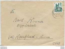 126 - 37 - Enveloppe Envoyée De Rheinland-Pfalz - French Zone