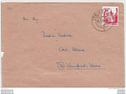 126 - 29 - Enveloppe Envoyée De Tübingen 1948 - French Zone