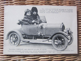 Carte Postale Automobile Cadillac Miniature - Altri