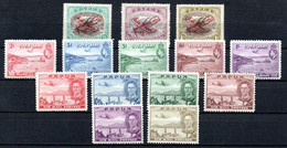 T1-14 Papouasie-Nouvelle-Guinée PA N° 2 à 4 * + 5 à 15 ** A Saisir !!!  Avions - Papúa Nueva Guinea