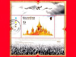 TAILANDIA - THAILAND - Usato - 2017 - Cerimonia Di Cremazione Del Re Bhumibol Adulyadej (Rama IX) - 9 - Thailand