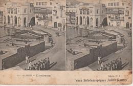 Algérie - ALGER - L' Amirauté - Vues Stéréoscopiques Julien Damoy - Cartoline Stereoscopiche