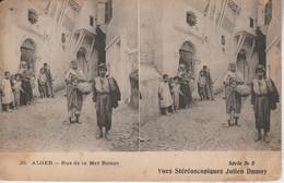 Algérie - ALGER - Rue De La Mer Rouge - Vues Stéréoscopiques Julien Damoy - Cartoline Stereoscopiche