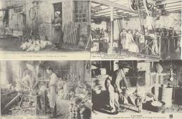 LOT 6 J : 12 REPRODUCTIONS DE CARTES POSTALES ANCIENNES DES SCENES DE DIVERS DEPARTEMENTS ET THEMES VOIR SCANS - 5 - 99 Postcards