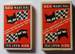 Ancien Jeu De 32 Cartes S.E.V. MARCHAL 9 Fois Champion Du Monde Automobile Voiture De Course - 32 Cards