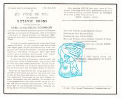 DP Octavie Soens / Cooremans ° Aspelare Ninove 1863 † Denderwindeke 1948 / Mersch Vanden Eynde Lauwereys - Devotion Images