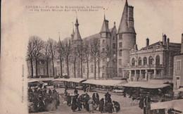 Nevers (58) Place De La République Et Et Théâtre  CPA Circulée - Nevers