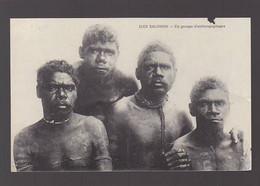 Nouvelles Guinées / Iles Salomon / Groupe D'anthropophages ( Mauvais état) - Papua New Guinea