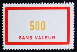 France Fictif N° F115 N** Luxe Gomme D'origine, TTB. Cote 8 €. Voir Photos Recto Verso ! - Phantom