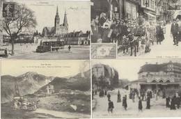 LOT 7 J : 12 REPRODUCTIONS DE CARTES POSTALES ANCIENNES DES SCENES DE DIVERS DEPARTEMENTS ET THEMES VOIR SCANS - 5 - 99 Postcards