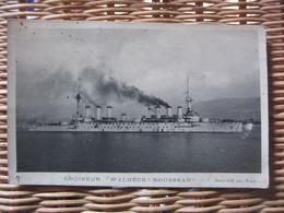 Carte Postale Croiseur Waldeck Rousseau - Guerra