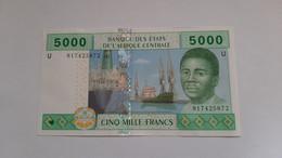 1-BILLET-5000-FRANCS-CAMEROUN-2002-NEUF - Camerún