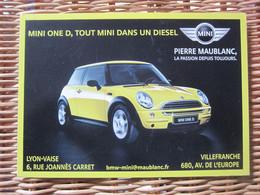 Carte Postale Automobile La Mini One D - Turismo