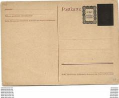 126 - 83 - Entier Postal Noirci / Surchargé - Stamped Stationery