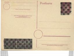 126 - 84 - Entier Postal Noirci / Surchargé - Stamped Stationery