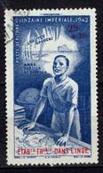 Colonie Française - Inde  - 1942 -  Quinzaine Impériale - PA N°9  - Oblit - Used - Usati