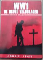 WW I De Grote Veldslagen 1914-1918; 4 Boeken En 5 Dvd's ; 2018 - Non Classificati