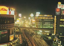 1 AK Japan * Glittering Ginza Street In Tokyo - A Shopper's Paradise * - Tokyo