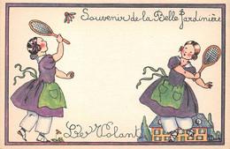 Publicité - N°76277 - Souvenir De La Belle Jardinière - Le Volant - Duché - Advertising