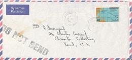 Kiribati Air Mail Cover Sent To England Single Franked MAP - Kiribati (1979-...)