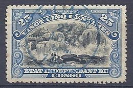 210038928  CONGO BELGA.  YVERT  Nº  22 - 1894-1923 Mols: Usados