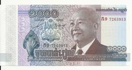 CAMBODGE 1000 RIELS 2012/2013 UNC P 63 - Cambodia