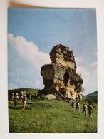 1974..USSR.. VINTAGE  POSTCARD WITH STAMP.. KISLOVODSK..ROCK OF LERMONTOV - Fotografie