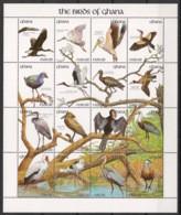 Ghana - 1991 - N°Yv. 1297 à 1312 - Oiseaux / Birds - Neuf Luxe ** / MNH / Postfrisch - Non Classificati