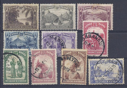 210038940  CONGO BELGA.  YVERT  Nº  168/173+175/8  UED/MH - 1923-44: Nuevos