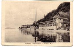 Tarjeta Postal De Ghiffa Circulada De 1920 - Verbania