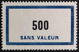 France Fictif N° F138 N* Quasi N** Luxe Gomme D'origine, TTB. Cote 4,80 €. Voir Photos Recto Verso ! - Fictie