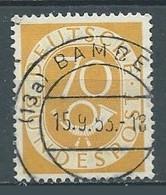 Allemagne YT N°22 Cor Postal Oblitéré ° - Gebruikt